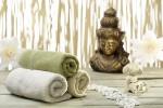 Bhuddha, Handtücher, Badesalz